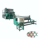 Flaches Plastikineinandergreifen der Filetarbeits-pp. pp., das Maschine herstellt