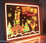 LEDの執筆ボードLEDの伝言板の広告