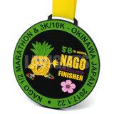 Médaille d'impression de la résine 4c Cmyk de coutume bon marché 2D