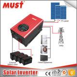 hohe Leistungsfähigkeit 3000W weg vom Rasterfeld-Solarinverter