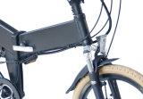"""Alta velocidade cheia da suspensão do Ce 20 """" que dobra a bicicleta elétrica com a bateria de lítio escondida"""