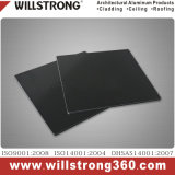 Schwarzes zusammengesetztes Aluminiumpanel für Dekoration