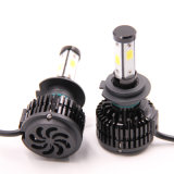 Lâmpada de faróis de automóveis quatro lados 360 Grau H11 Farol LED