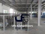 Heißer ölverschmutzter industrieller schraubenartiger Luftverdichter des Verkaufs-20HP 15kw mit Luft-Becken