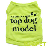 Pet polyester T-Shirts Vêtements Veste de chien