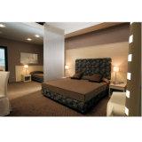 薄板にされたボードの方法タイプホテルの寝室の家具のクイーンサイズのベッド