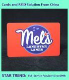 Gaststätte-Karte bildete Plastik mit magnetischer Streifen-farbenreichem Drucken