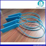 Tag plástico branco da cinta plástica da cor 13.56MHz RFID