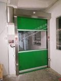 Hochgeschwindigkeits-Belüftung-Vorhang-Tür-automatische schnelle Schiebetür mit Fernsteuerungs