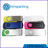 Disco de destello del USB de la torcedura promocional de encargo de la impresión