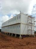 アフリカの学校のための容器の家