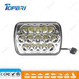 """"""" lámpara del trabajo de Epistar LED del rectángulo de 45W 5X7 para el carro"""