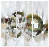 صورة زيتيّة تجريديّ - نوع خيش جدار فنية
