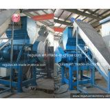 Lavatrice di plastica degli scarti automatici del PE pp/riga di riciclaggio di plastica