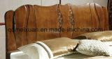 固体木のベッドの現代ダブル・ベッド(M-X2293)
