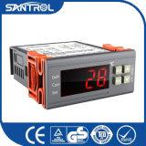 O único sensor automático degela o controlador de temperatura