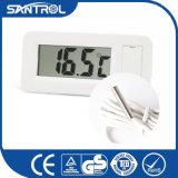小さいパネルの太陽デジタル体温計
