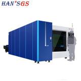 Pallet cambiabile dotato alla tagliatrice del laser di Hans GS 3300W
