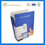건강 제품 (영양이 되는 분말)를 위한 주문을 받아서 만들어진 Cmyk에 의하여 인쇄되는 접히는 마분지 서류상 포장 상자