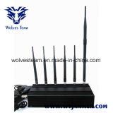 6 telefone de pilha GPS da antena 3G 4G Lte & jammer de Lojack