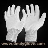 Перчатка PU Deely белой покрынная ладонью работая