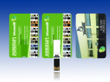 Disco instantâneo magro do USB do cartão de crédito