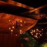 屋外LEDのクリスマスの花火軽いLEDストリングライト