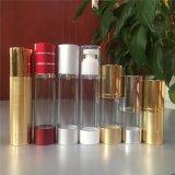 Bottiglia senz'aria dell'estetica della pompa garantita qualità