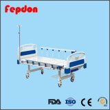 Manuelles bedientes zwei Funktions-manuelles Krankenhaus-Bett-Patienten-Bett (HF-828A)