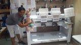 중국에 있는 두 배 맨 위 관 유형 자수 기계 가격