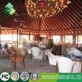 Vectores y sillas al aire libre del restaurante de los muebles del estilo asiático suroriental