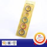 Belüftung-Isolierungs-Rohr-Verpackungs-Band, elektrisches Isolierungs-Band in der Blasen-Karte