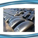 Accessori per tubi d'acciaio d'acciaio galvanizzati del gomito del ghisa