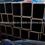 50X100mm x 4mm X 2.4meters rechteckiges Stahlrohr für Stahlrahmen