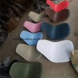 容易な食堂の台所寝室のラウンジのための足を搭載するEMS様式の椅子のシェルの椅子はきれいな白をアセンブルする