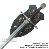 Regno della spada 115cm Jot053c del cavaliere del crociato di Swordmedieval di cielo
