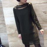 Fantastische Butike plus Größe verwendetes verursachendes Kleid für Frauen