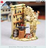 Precios baratos de resina de la decoración de Navidad Pesebre de animales en miniatura de la Figurilla