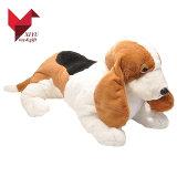 専門の中国FacrotyはOEMのプラシ天犬を作る