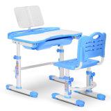 Les enfants de meubles en plastique réglable en hauteur Table d'étude à bon marché pour les étudiants