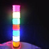 La decoración del hogar Balck ultra delgado de la luz de neón Flex LED de 100 metros de la luz de la cuerda
