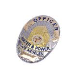 Badge métallique plaqué argent avec haute qualité (YB-p-004)
