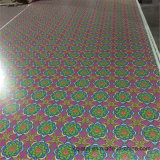 Oriente Medio de 2,5 mm de diseño de papel Flores de Madera contrachapada superpuesta