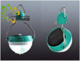 Lumière campante solaire, blanc, 60PCS IMMERSION Phi5 DEL, 3.5W, 360lm, allumant Mode100%, 60%, bavure de 30%, SOS