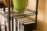 Casa e Escritório bricolage Ajustável Vintage Rack do livro de Metal