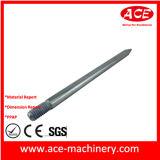 El trabajar a máquina del CNC de la pieza de aluminio de la cubierta