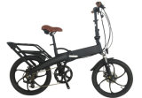Стильный велосипед e с спрятанной батареей