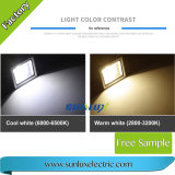 Reflector blanco de la MAZORCA 6500K 6500lm 100W LED del color