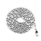 نمو [ستينلسّ ستيل] مجوهرات فضة نجم مدلّاة عقد
