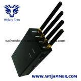 Portable tenuto in mano per in tutto il mondo tutti i cellulare delle reti ed emittente di disturbo di WiFi